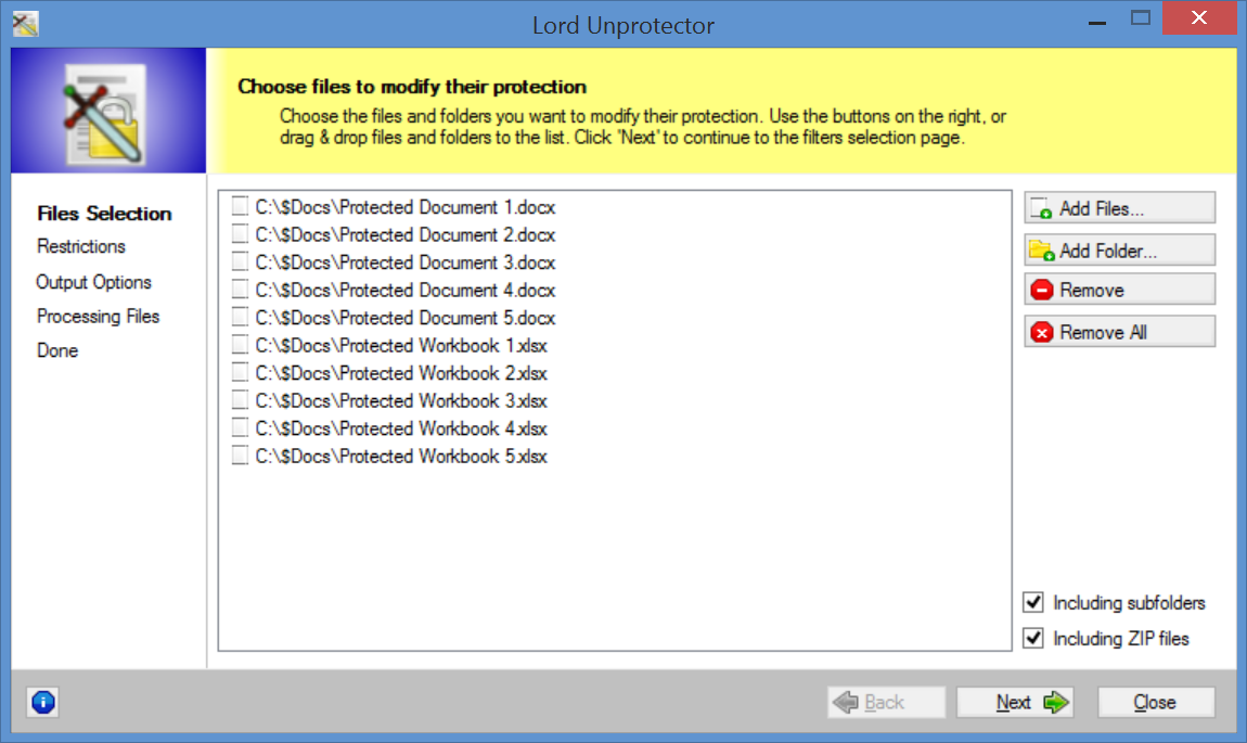 excel workbook protection removal
